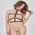 Cosplay harajuku mulheres cintos suspender sexy cintura de couro ombro designers belt arreios para presentes de ano novo