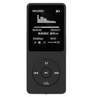 1.8 Pouce TFT Noir 4G 8G MP3 HiFi Sonore Sans Perte Lecteur de Musique FM Enregistreur SD support de la Carte TF 64 GB Micro SD Carte En Gros