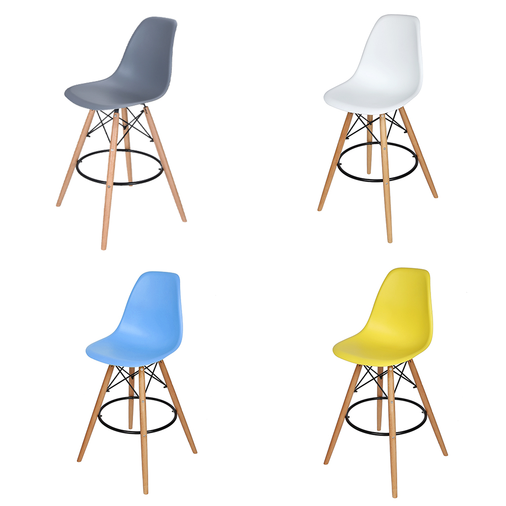 Bar Stool Breakfast Kitchen Cafe Vintage Wood Dining Chairs HOT SALE цена и фото