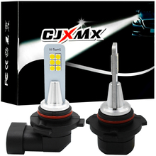 CJXMX 2X3000 K H7 светодиодный H1 H3 H8 H11 9005/HB3 9006/HB4 супер яркий 12 3030SMD автомобилей Противотуманные фары лампы 1200LM 6000 K авто светодиодный Туман лампа