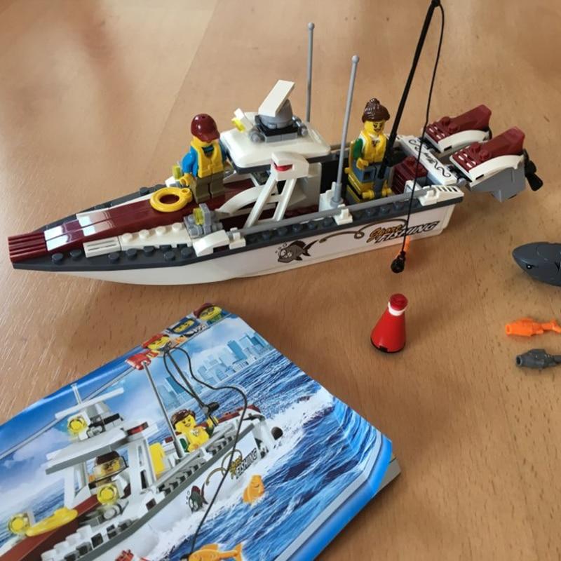 Lepin 02028 159Pcs City Great Speed Vehicles Building Blocks Fishing ...