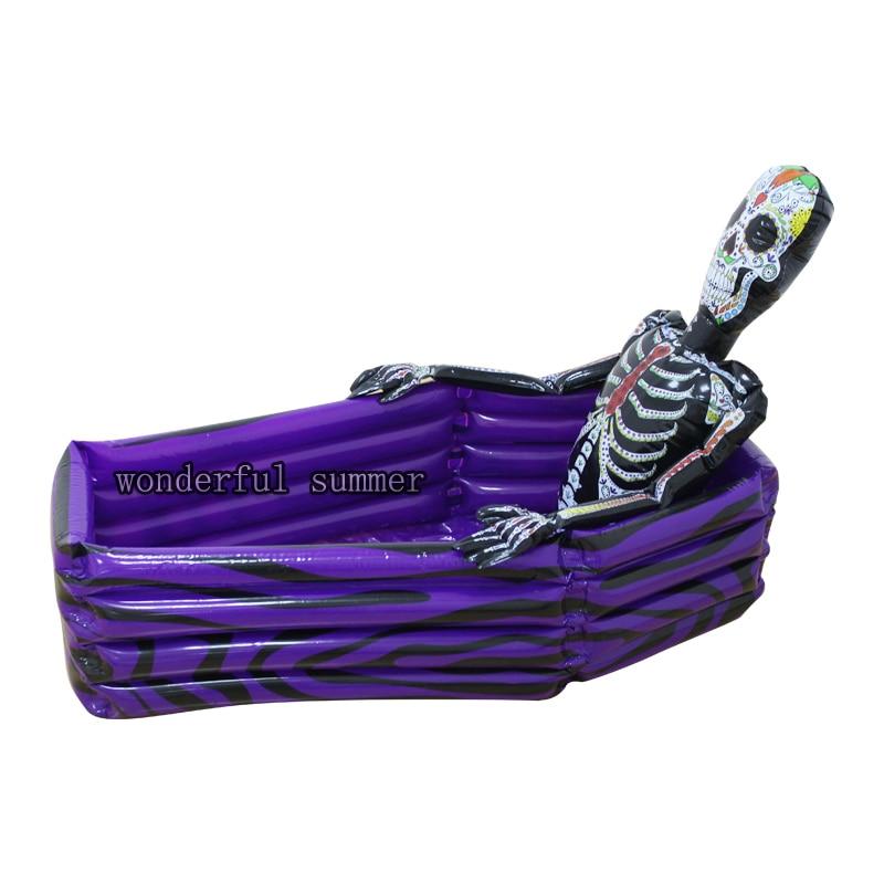102cm milžinas kaukolė pripučiamas aušintuvas skeleto gėrimas - Vandens sportas - Nuotrauka 4