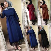 Vestidos Women 2019 Abaya Dubai Ramadan Caftan Moroccan Muslim Dress Turkish
