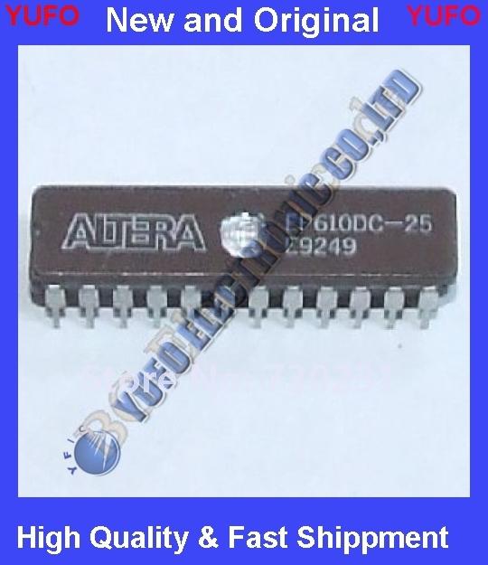 Frete Grátis 1 x EP610DC-25 CPLD, EP610 Família, ECMOS Processo, 300 Gat CDIP-24 1 pcs