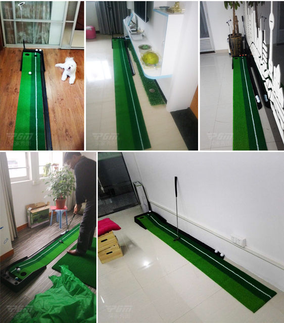 Online Shop Golf Putting Mat,Mini Golf Putting Trainer with ...