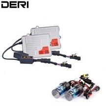 55 Вт тонкий HID Балласт переменного тока с преобразователь can-шины блок зажигания балласт с H1 H3 H7 H8 H9 9005 9006 12 V Ксеноновые лампы комплект