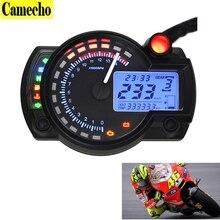 2016 New Universal Motorcycle Digital Speedometer LCD digital Odometer Motorcycle odometer speedometer adjustable MAX 299KM/H