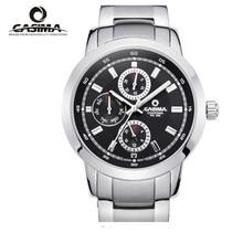 Reloj Hombre 2017 CASIMA Leather strap Men's watch Sports Calendar dial Military belt Fashion Quartz Watch Waterproof Male Clock