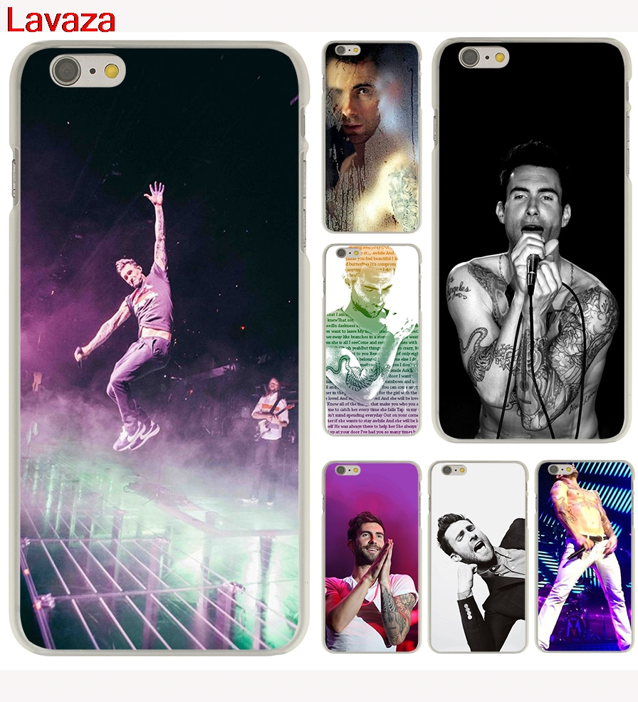 Lavaza Photos from Maroon 5 Hard Phone Case for Apple iPhone X 10 8 7 6 6s Plus 5 5S SE 5C 4 4S Cover Coque Shell
