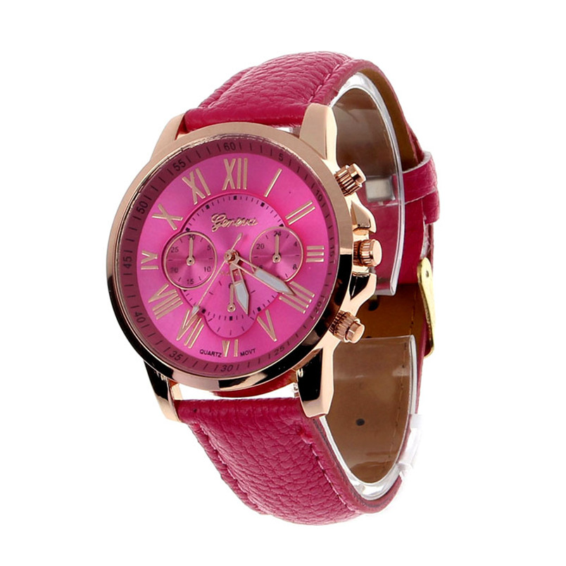 Women's Quartz Wristwatches Wrist Watch Fashion Geneva Roman Numerals Faux Leather Analog Free Shipping Watches Dropshipping A4 top sale montre femme quartz watch women s fashion geneva roman numerals faux leather analog wrist watch relogios femininos yo1