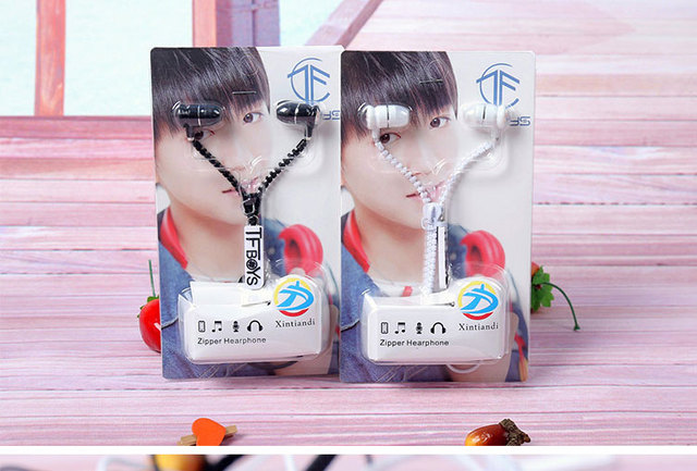 US $4 59 8% OFF|[MYKPOP]GOT7 Zipper zip Mic Earbuds For Pad PC Mobile Phone  Mp3 Mp4 KPOP Fans Collection SA18042918-in Action & Toy Figures from Toys