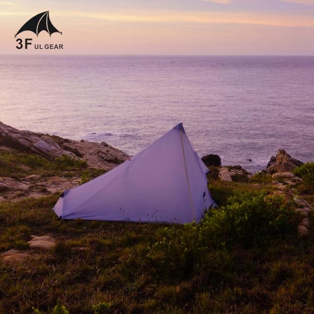3F UL Ultralight Tent 740g 3 Season 1 Single Person Professional 15D Nylon Silicon Coating 4