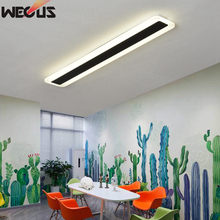 Led rectangular ceiling lamp modern minimalist room lights balcony aisle corridor hallway entrance