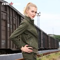 Free Army Brand Ladies Jackets Women Bombers Autumn Casual Slim Thin Solid Outerwear Autumn Jacket Women's Clothing Gs-8228A