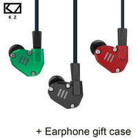 KZ ZS6 2DD 2BA Hybrid In Ear Earphone HIFI DJ Monito Running Sport Earplug Headset KZ