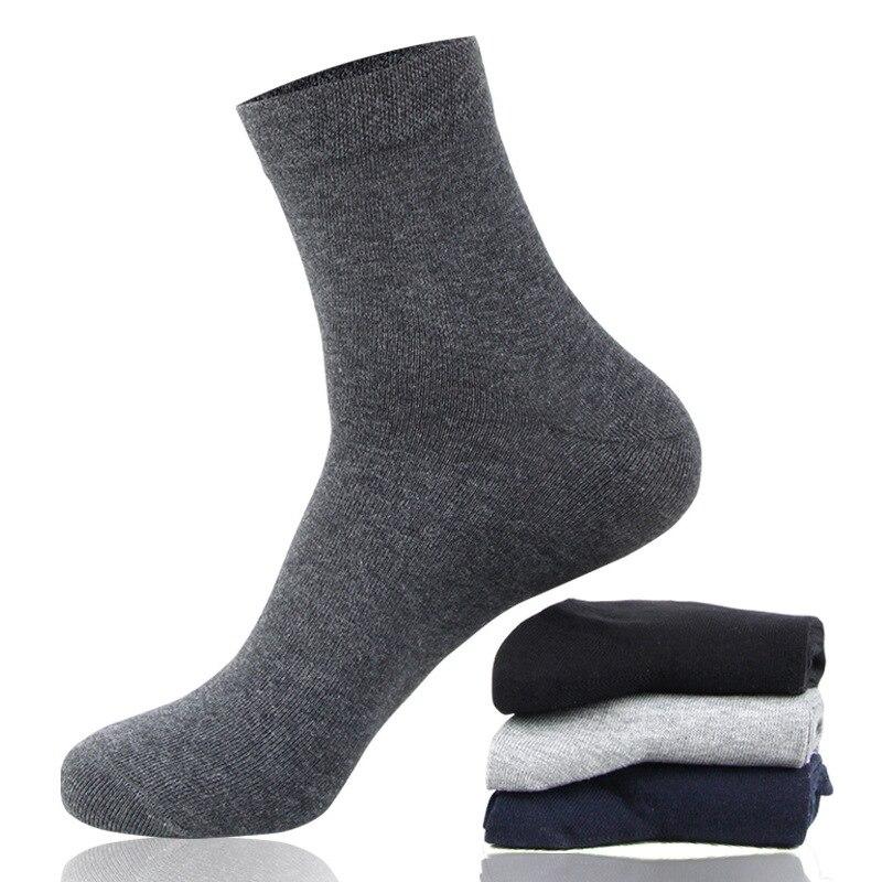 Socks Business Men Summer Fashion Cool Solid Comfortable Socks High Quality Cotton Sweat Deodorant Man  Thin Dress Style Socks