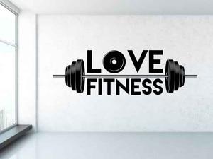 Image 1 - Weightlifter ויניל קיר מדבקות ספורט כושר גברים של חדר כושר נוער מעונות שינה shool עיצוב הבית קיר מדבקות 2GY12