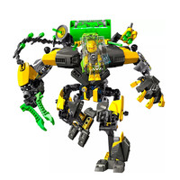 Star Warrior Soldiers Bionicle Hero Factory EVO XL Machine Robot Model Building Block Compatible With  Enlighten Toys