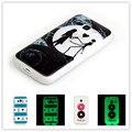 Для Samsung Galaxy J1 Mini J105 J1 2016 J120 J1 Ace J110 Мягкий Силиконовый Световой Телефон Case Pattern Мода Люминесцентная Обложка