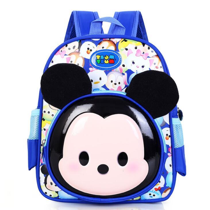 Дети детский сад рюкзак/малыш школьные сумки/Сумка для мальчиков и девочек бесплатная доставка 2018 с Микки Маусом Детские рюкзаки