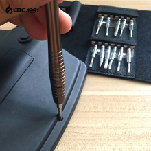 Outdoor camping 25 in1 Portable  Multifunction Mini Screwdriver Wallet Repair Tool Set EDC Tools survival kit