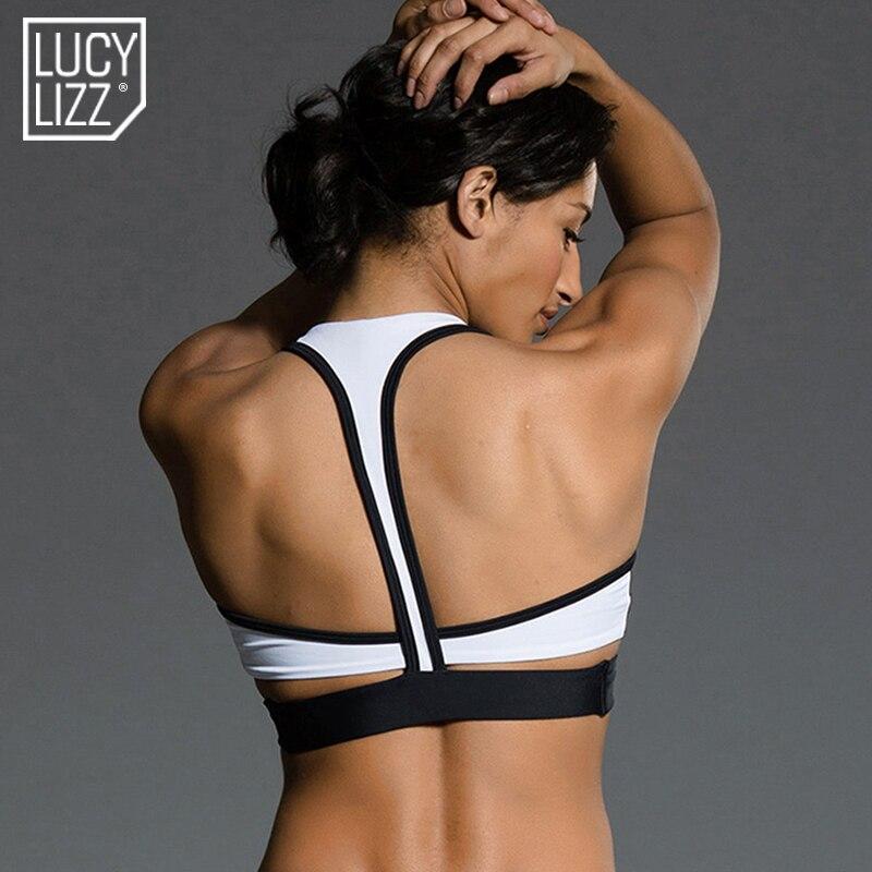 Prix pour Fitness Sports Bra Top Femmes Courir Yoga Soutiens-gorge Rembourré Sport Top Gym Vêtements de Sport Sous-Vêtements Push Up Soutien-Gorge Veste D'entraînement