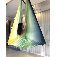 XC Elastische 6 meter Bunte Aerial Yoga Hängematte Multifunktions Anti-Gravity Yoga Hängematte Schaukel Bett Yoga Gürtel für Yoga picknick