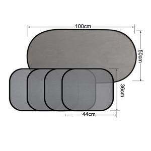 Image 4 - 5 комплектов, автомобильные оконные сетки, боковые и задние тенты, авто стекло, пряжа, тент, блок, супер изоляция, горячий анти солнцезащитный экран, пленочный козырек, чехол