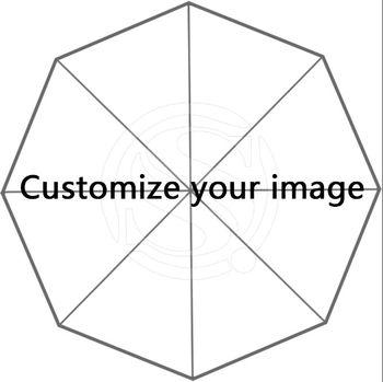 XJ пользовательские Одежда высшего качества 43,4 дюймов Автоматическая 3 раза Зонты хороший подарок на день рождения