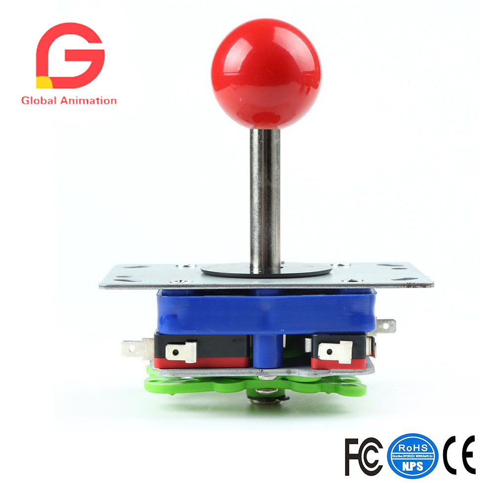 Arcade Game Kit DIY Parts for Retropie: PC USB Encoder+Joysticks+Push Buttons