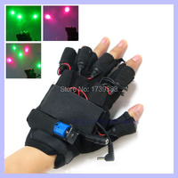 1 pair Christmas gift 532nm 100mw Violet Blue Laser Gloves dancing stage show light for DJ /Party show led glove party supplies
