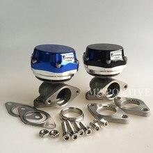 38 мм турбо коллектор синий черный внешний мусорный клапан+ клапан/кольцо+ 24 фунтов/кв. дюйм пружина