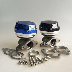 38 мм турбо коллектор синий черный внешний мусорный клапан + клапан/кольцо + 24 фунтов/кв. дюйм пружина