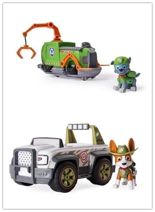 OPP bag! Original Paw Patrol VEHICLE & FIGURES Everest tracker Robodog Skye Ryder chase marshall rocky zuma rubble kids toy