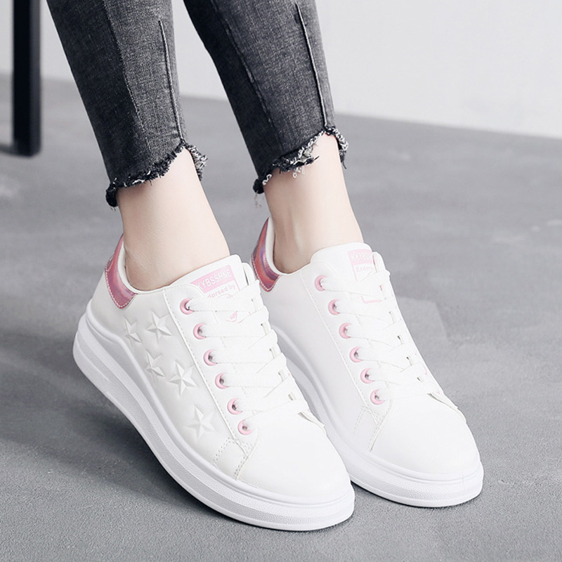 Women Sneakers 2019 Fashion New Designer White Shoes Women ...