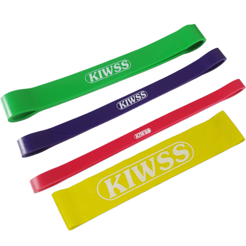 Resistance Bands Yoga Pilates Exercise Fitness Sport Equipment Elastic Rubber Band Loop Pull Up Physic Training