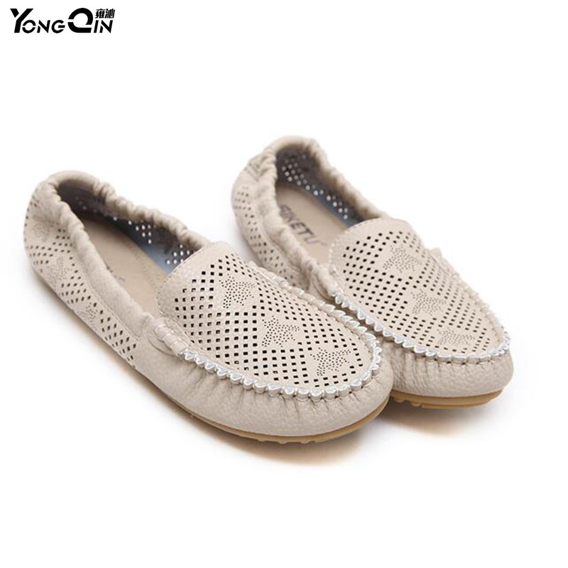 Newest Women Flats Round Toe  Shallow Soft Women Shoes Women Casual Peas shoes size 35-41 vintage embroidery women flats chinese floral canvas embroidered shoes national old beijing cloth single dance soft flats