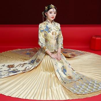 2019 Cheongsam Vestido Moderno Qipao Vestido Chino Vestido