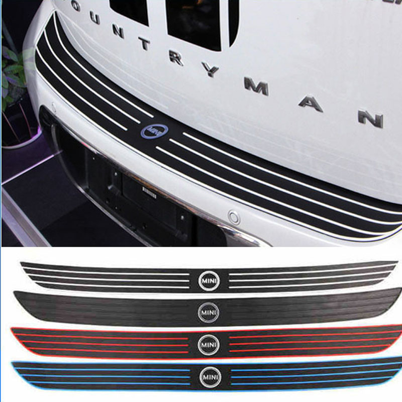 Mini Countryman R60 Rubber Car Rear Bumper Protection Sticker