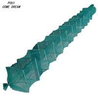 Length5m 17 섹션 낚시 그물 새로운 낚시 그물 지상 케이지 chinaotes 야외 pesca p 낚시 네트워크 물고기 트랩 rode 새우 케이지