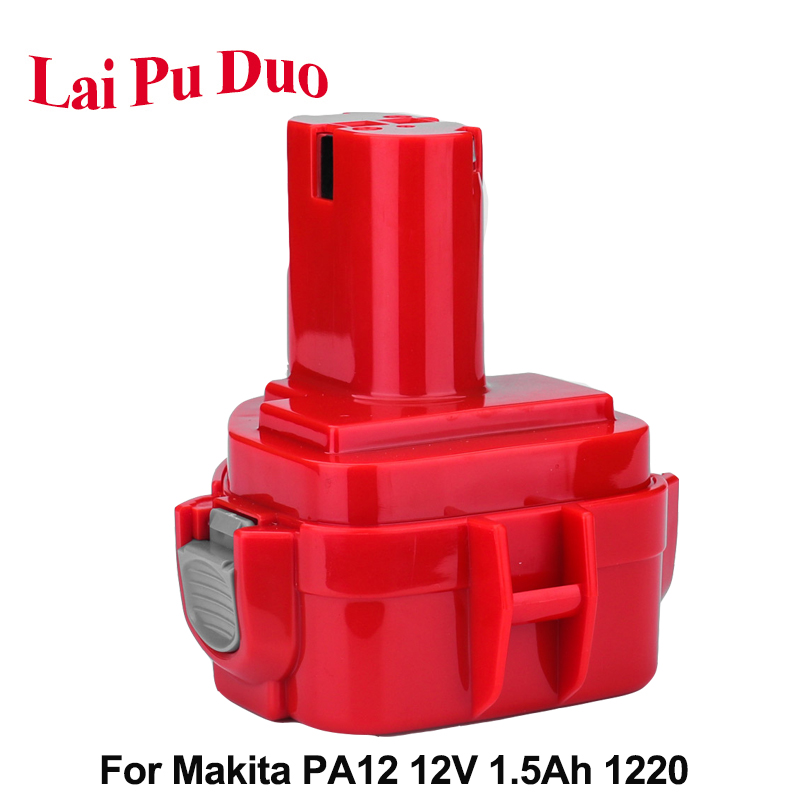 <font><b>12V</b></font> NI-CD <font><b>1.5Ah</b></font> Power Tool <font><b>Battery</b></font> For Makita Drill 1220 192698-2193157-5 192598-2 193681-6 1201 1235 4013D image