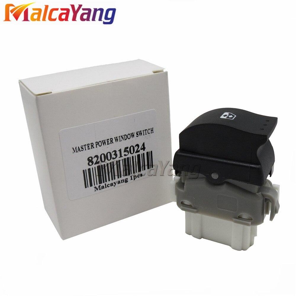 RENAULT Megane 2 Dynamique Laguna 2 DRIVER Power Window Switch 8200 315 042