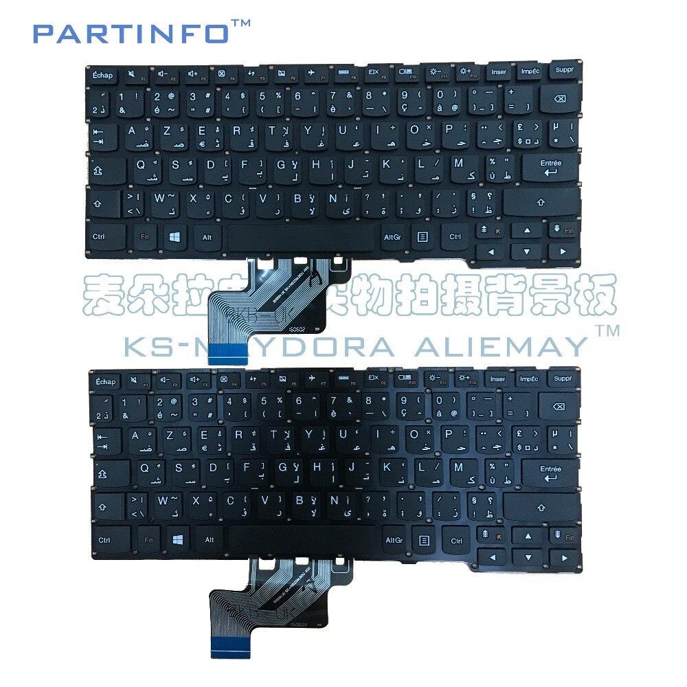 NEW FR-AR Keyboard for Lenovo Yoga 3 11(11) 300-11IBR 300-11IBY 700-11ISK Flex 3 11 Laptop FR AR Keyboard BLACK
