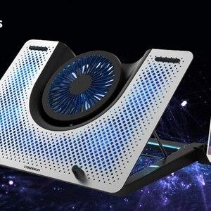Gaming aluminum laptop cooling