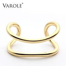 VAROLE w nowym stylu bransoletka mankietowa w złotym kolorze i bransoletki kobiety wysokiej jakości bransoleta ze stali nierdzewnej miłość bransoletka biżuteria