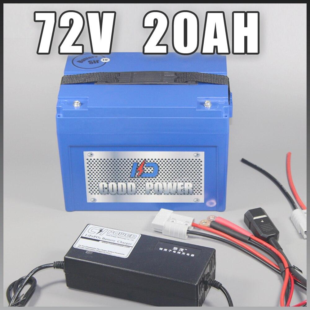 72 V Batterie Au Lithium-ion vélo Électrique E-bike Scooter 3000 W UE Libre NOUS taxe de Droit