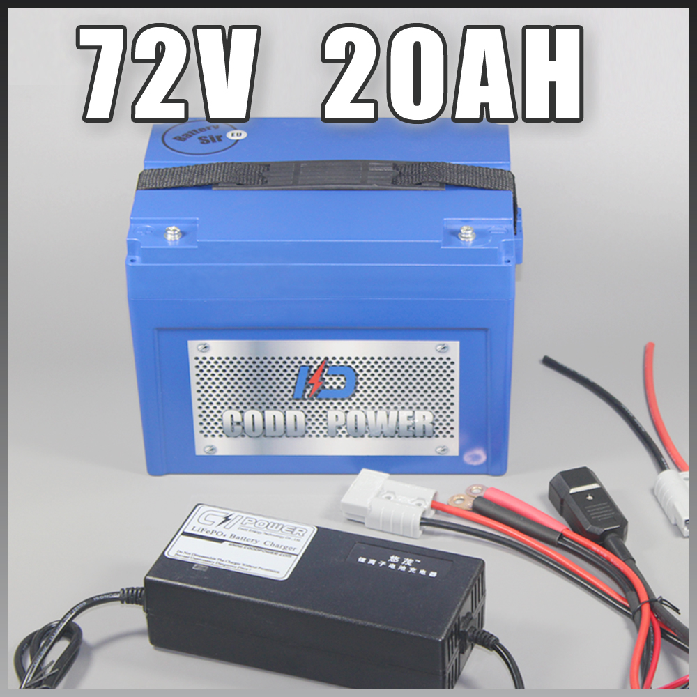 72 v Au Lithium ion Batterie vélo Électrique E-bike Scooter 3000 w UE Libre NOUS taxe de Droit