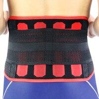 Kuangmi Waist Trimmer Ab belt Lumbar Back Brace Waist Support Fitness Sports Slimming Belt