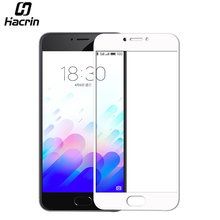 hacrin for Meizu M3 Note 0.33mm Fully Cover Anti-Explosion Screen Protector Film Case for Meizu M3 Note Smartphone