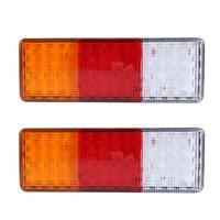 2PCS 12V 70LEDS Trailer Truck LED Tail Light Lamp Yacht Car Trailer Taillight Reversing Running Brake